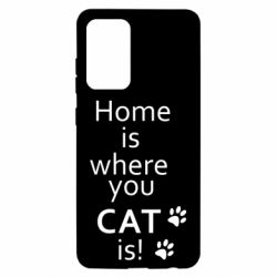 Чохол для Samsung A52 5G Home is where your Cat is!