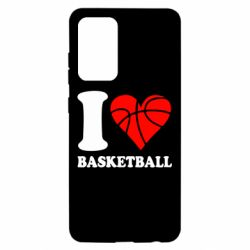 Чохол для Samsung A52 5G I love basketball