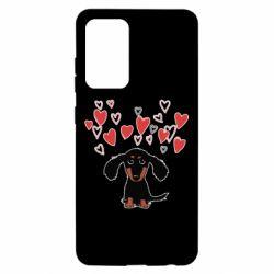 Чохол для Samsung A52 5G I love dachshund