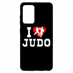 Чохол для Samsung A52 5G I love Judo