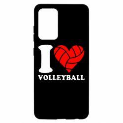 Чохол для Samsung A52 5G I love volleyball