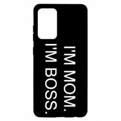 Чохол для Samsung A52 5G I'm mom. i'm boss.