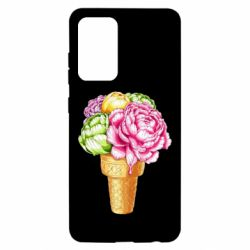 Чохол для Samsung A52 5G Ice cream flowers