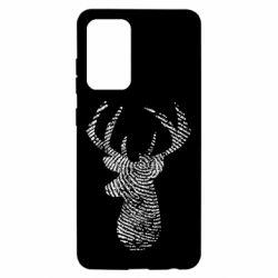 Чохол для Samsung A52 5G Imprint of human skin in the form of a deer
