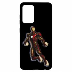 Чохол для Samsung A52 5G Iron man with the shadow of the lines
