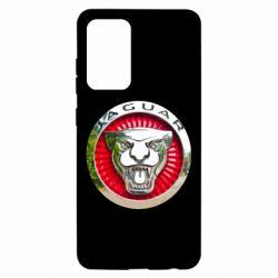 Чехол для Samsung A52 5G Jaguar emblem