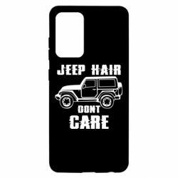Чохол для Samsung A52 5G Jeep hair don't care