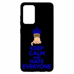 Чехол для Samsung A52 5G KEEP CALM and HATE EVERYONE