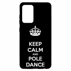 Чохол для Samsung A52 5G KEEP CALM and pole dance