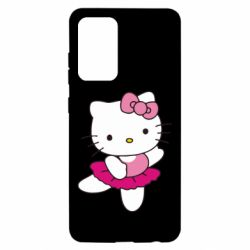 Чехол для Samsung A52 5G Kitty балярина