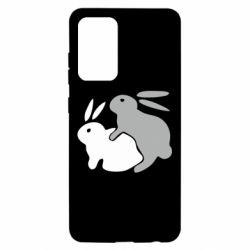 Чохол для Samsung A52 5G Кролики