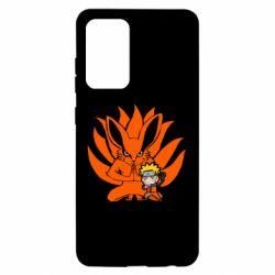 Чохол для Samsung A52 5G Kurama And Naruto