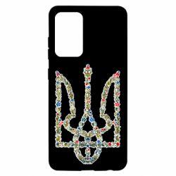 Чехол для Samsung A52 5G Квітучий герб України