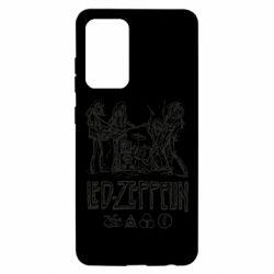 Чехол для Samsung A52 5G Led-Zeppelin Art