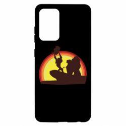 Чохол для Samsung A52 5G Lion king silhouette
