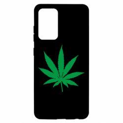 Чохол для Samsung A52 5G Листочок марихуани