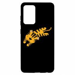 Чохол для Samsung A52 5G Little striped tiger