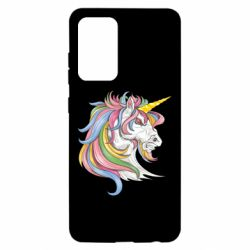 Чохол для Samsung A52 5G Кінь з кольоровою гривою