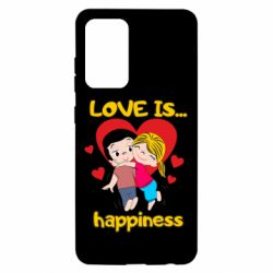 Чохол для Samsung A52 5G love is...happyness