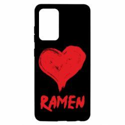 Чохол для Samsung A52 5G Love ramen