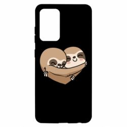Чохол для Samsung A52 5G Love sloths