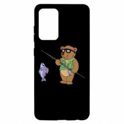 Чохол для Samsung A52 5G Ведмідь ловить рибу