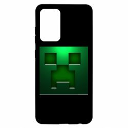 Чехол для Samsung A52 5G Minecraft Face