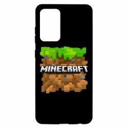 Чохол для Samsung A52 5G Minecraft Main Logo