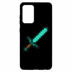 Чохол для Samsung A52 5G Minecraft меч