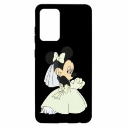 Чехол для Samsung A52 5G Minnie Mouse Bride