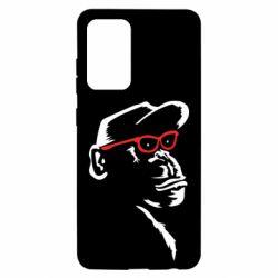 Чохол для Samsung A52 5G Monkey in red glasses