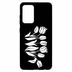 Чохол для Samsung A52 5G Monochrome tulips