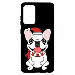 Чехол для Samsung A52 5G New Year's French Bulldog
