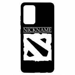 Чехол для Samsung A52 5G Nickname Dota