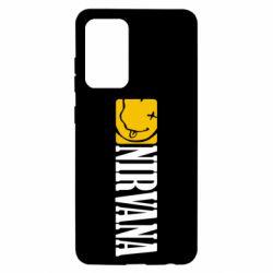 Чохол для Samsung A52 5G Nirvana смайл