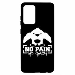 Чехол для Samsung A52 5G No pain no gain пингвин