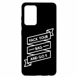 Чехол для Samsung A52 5G Pack your bag and go