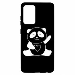 Чохол для Samsung A52 5G Panda and heart