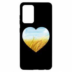 Чохол для Samsung A52 5G Пейзаж України в серце