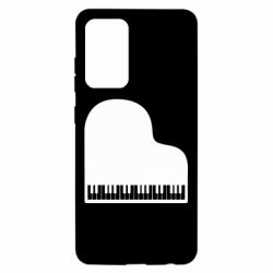 Чохол для Samsung A52 5G Piano in the heart