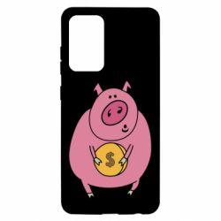 Чохол для Samsung A52 5G Pig and $