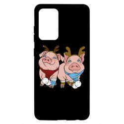 Чохол для Samsung A52 5G Pigs