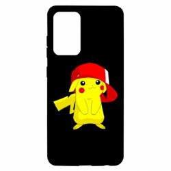 Чехол для Samsung A52 5G Pikachu in a cap