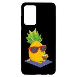 Чохол для Samsung A52 5G Pineapple with coconut
