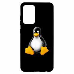 Чохол для Samsung A52 5G Пингвин Linux