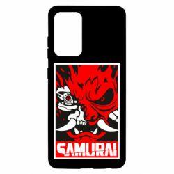 Чохол для Samsung A52 5G Poster samurai Cyberpunk