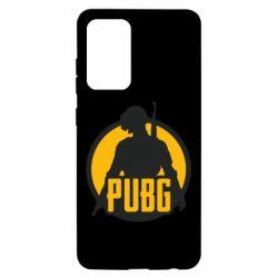 Чехол для Samsung A52 5G PUBG logo and game hero