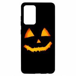 Чохол для Samsung A52 5G Pumpkin face features