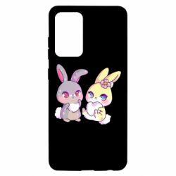 Чохол для Samsung A52 5G Rabbits In Love