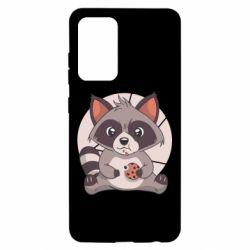 Чохол для Samsung A52 5G Raccoon with cookies